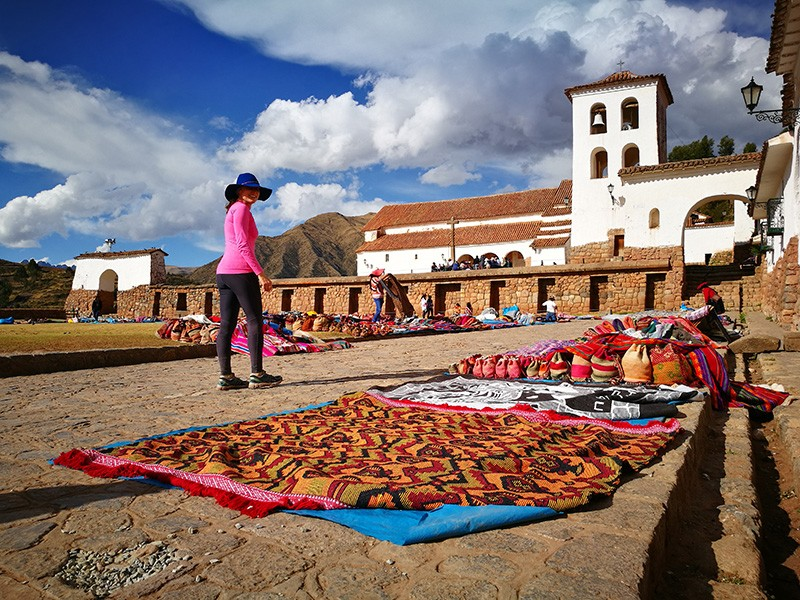Zdjęcia: Chinchero , Cusco , Lokalny ryneczek, PERU