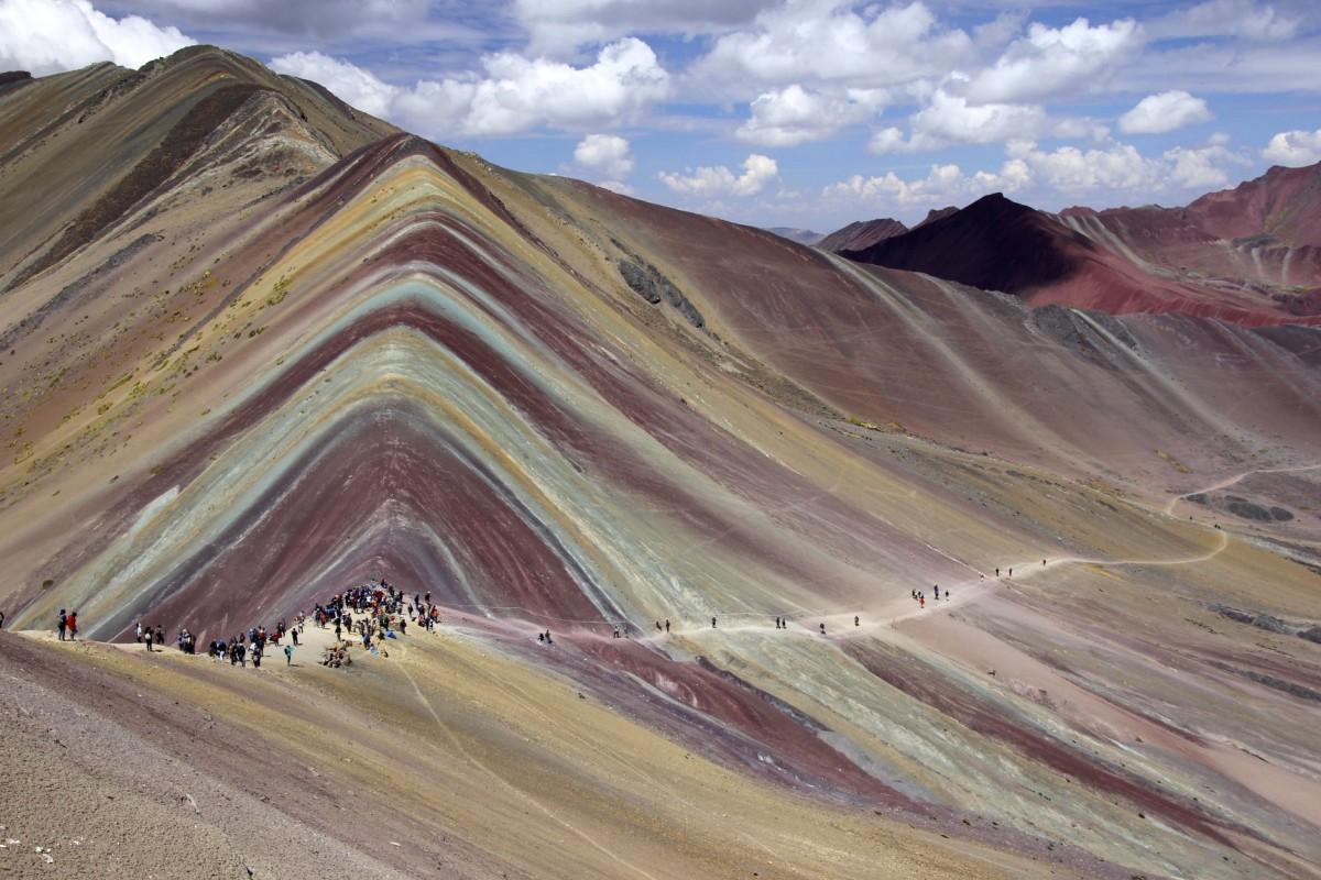 Zdjęcia: Rainbow Mountain, Ausangate, Rainbow Mountain, PERU