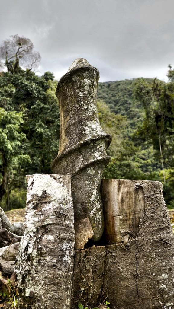 Zdjęcia: Vilcabamba, Vilcabamba, Kamienie o motywach fallicznych w Wielkiej Vilcabambie. , PERU