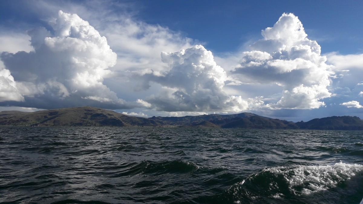 Zdjęcia: jezioro, Puno, Jezioro Titicaca, PERU