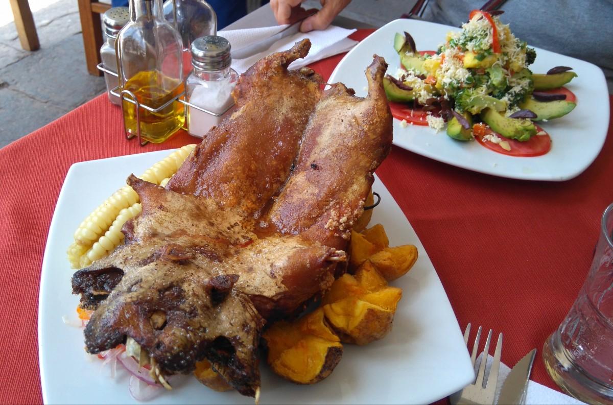 Zdjęcia: Cusco, Cusco, Peruwianski lunch, PERU