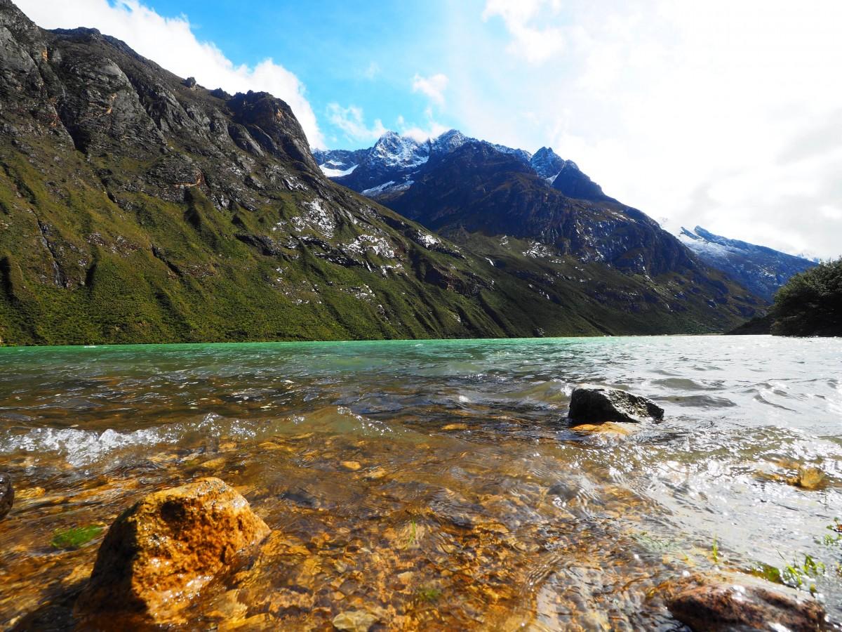 Zdjęcia: Cordillera Blanca, Andy, Santa Cruz Trek, PERU