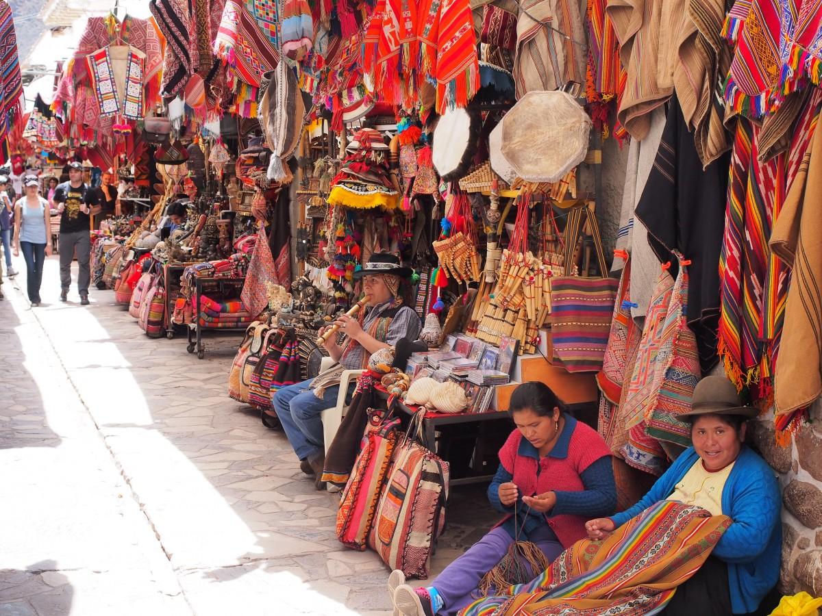 Zdjęcia: Pisac, Andy, Pisac Market, PERU