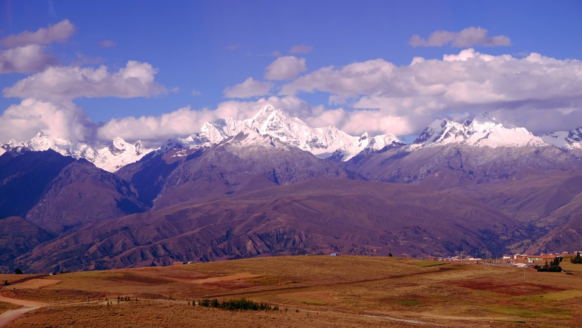 Zdjęcia: Dojazd do Huaraz, Huaraz, Widok na Cordillera Blanca, PERU