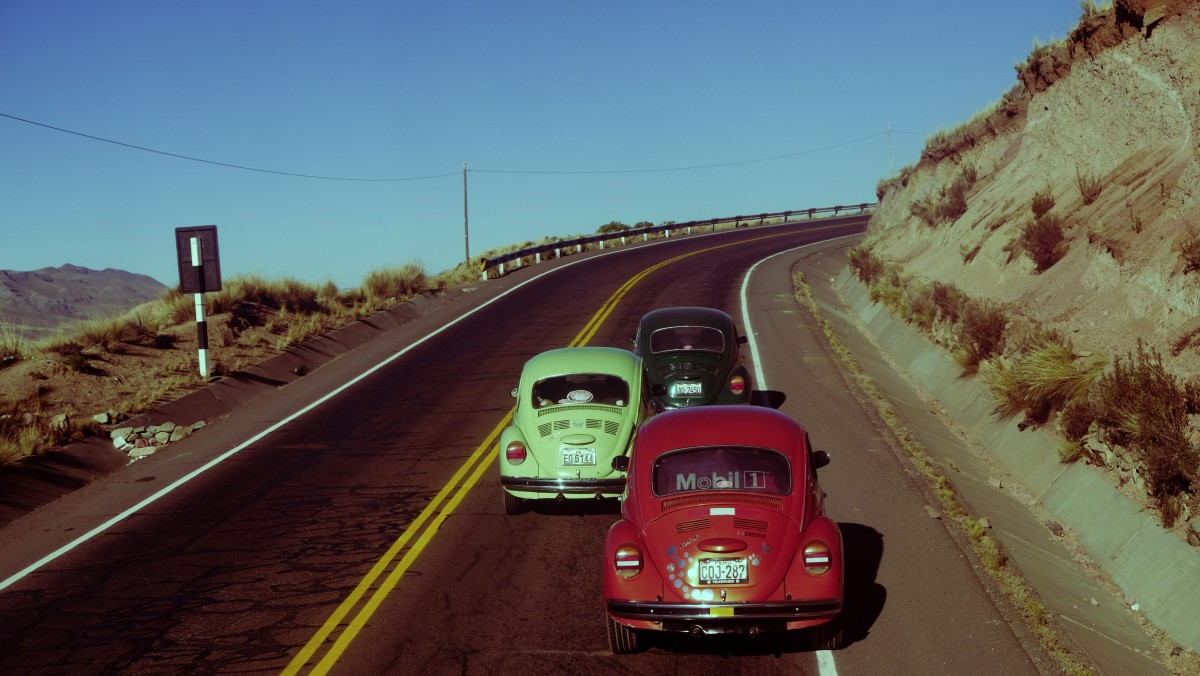 Zdjęcia: Droga do Arequipy, Arequipa, Garbusy, PERU