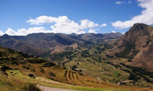 Zdjęcie PERU / Peru / Święta dolina Inków / Okolice miasta Pisac