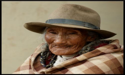PERU / Cuzco / . / Konkurs, Indianka