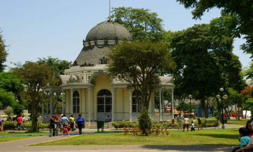 Zdjęcie PERU / Lima / Lima / Ogród w  centrum