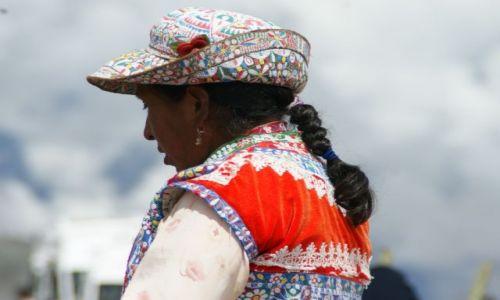 Zdjęcie PERU / Kanion  Kolca / Kanion  Kolca / Kolorowo