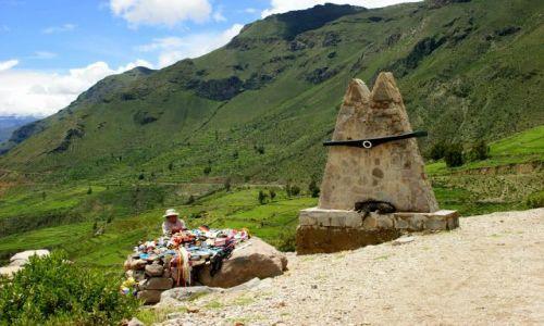 Zdjęcie PERU / Chivay / Chivay / Pomnik  lotnika