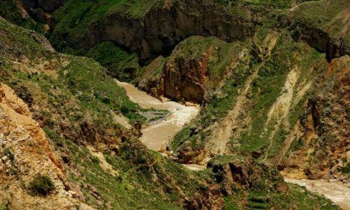 Zdjęcie PERU / Chivay / Chivay / Rzeka  Kolca