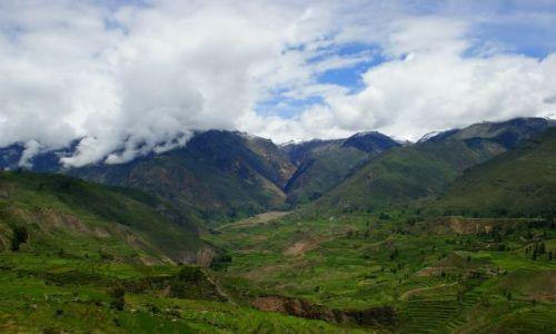 Zdjęcie PERU / Chivay / Chivay / Dolina