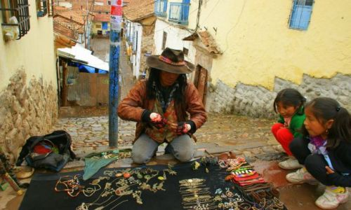 Zdjecie PERU / Cuzco / Cuzco / Indianin