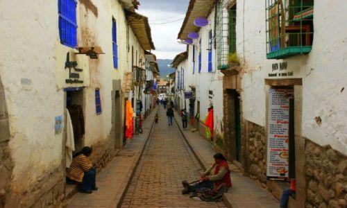 Zdjęcie PERU / CUZCO / CUZCO / ULICZKA