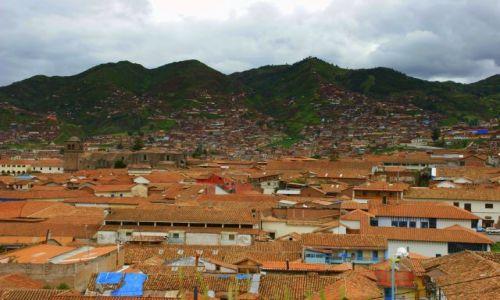 Zdjęcie PERU / CUZCO / CUZCO / DACHY