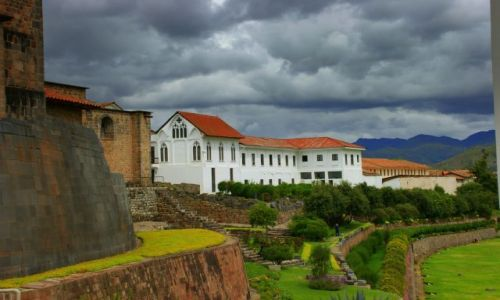 Zdjecie PERU / Cuzco / Cuzco / Pałac  biskupi  Cuzco