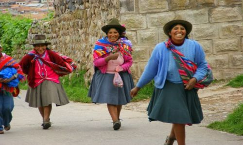 Zdjecie PERU / Cuzco / Cuzco / Laski