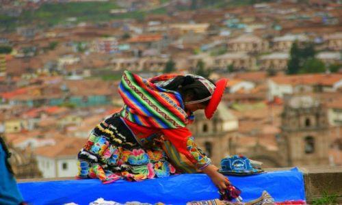 Zdjecie PERU / Cuzco / Cuzco / Indianka Cuzco
