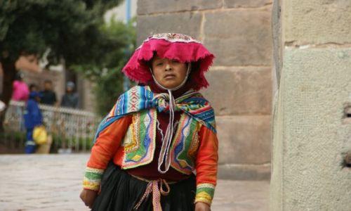 Zdjecie PERU / Cuzco / Cuzco / Pozuje