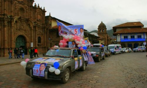 Zdjecie PERU / Cuzco / Cuzco / Wybory  na  burmistrza Cuzco
