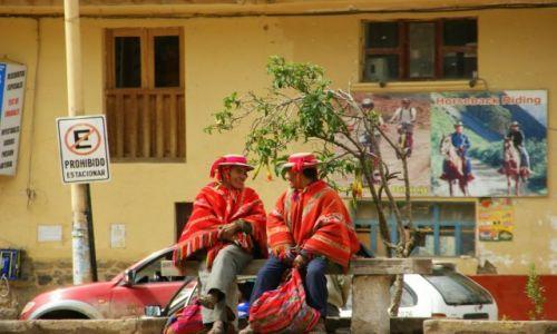 Zdjęcie PERU / Ollantayambo / Ollantayambo / Rozmowa