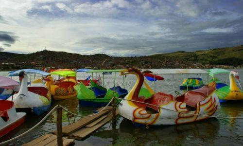 Zdjęcie PERU / Puno / Puno / Jezioro  Titikaka