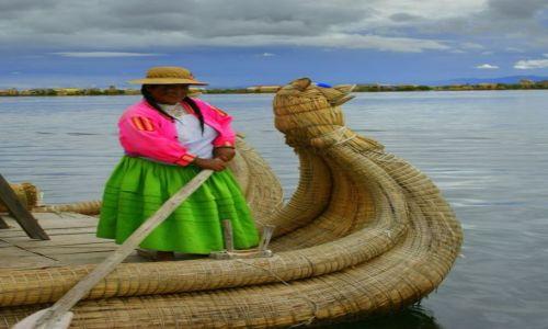 Zdjęcie PERU / Puno / Puno / Wioślarka