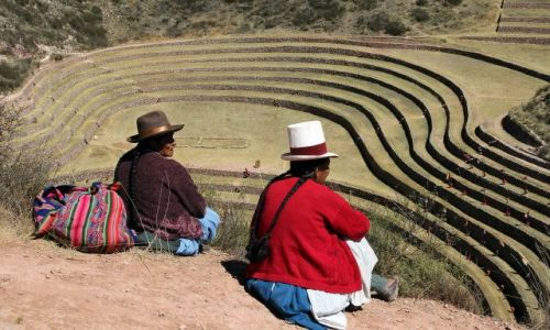 Zdjęcie PERU / - / Moray / Peruwiańskie klimaty