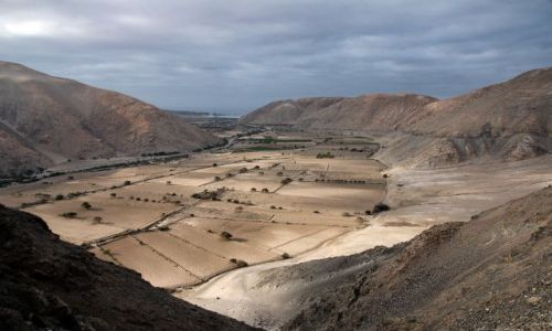 Zdjecie PERU / - / po�udnie Peru / pustynna dolina