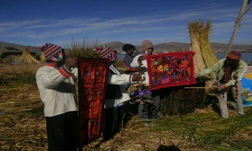 Zdjecie PERU / - / Wyspy Uros / Ludzie