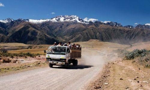 Zdjęcie PERU / - / Moray / Podróż w Andach