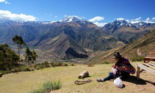 Zdjecie PERU / - / Święta Dolina Inków / praca z widokami