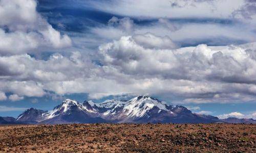 Zdjęcie PERU / Peru / okolice Chivay / Andyjskie wulkany