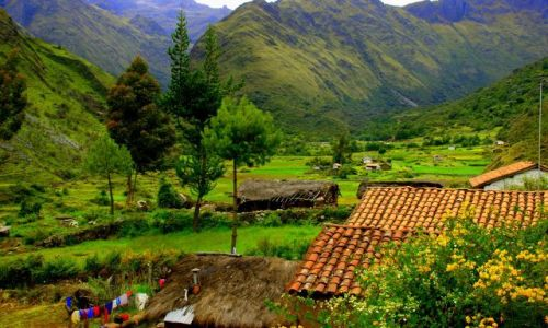 Zdjecie PERU / Hurascaran / Hurascaran / Dolina