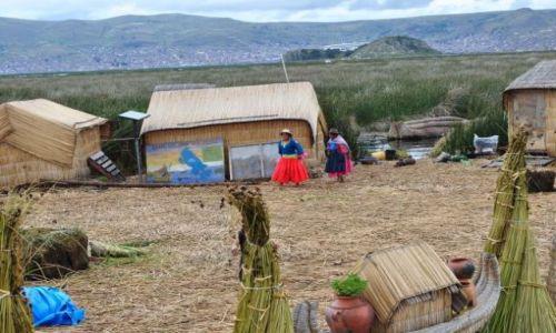 Zdjęcie PERU / Puno / jezioro Tititaca / wyspy trzcinowe