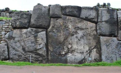 Zdjęcie PERU / Cusco / okolice Cusco / budowle inkaskie