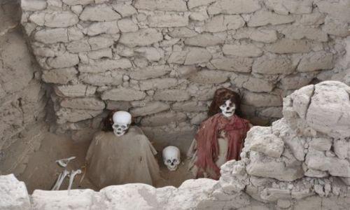 Zdjecie PERU / Płaskowyż Nasca / okolice Nazca / grobowiec inkaski