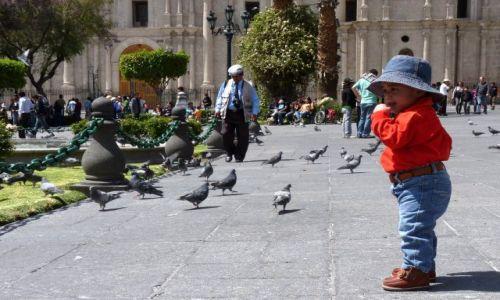 PERU / Arequipa / Arequipa / Spacer po rynku