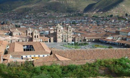 Zdjecie PERU / brak / cuzco / plaza de armas