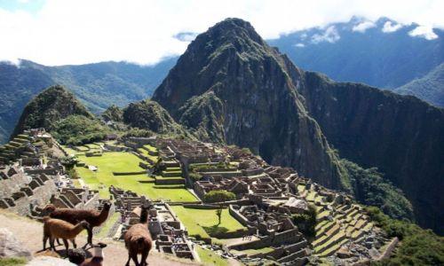 Zdjecie PERU / Andy / Machu Picchu / Miasto Inków
