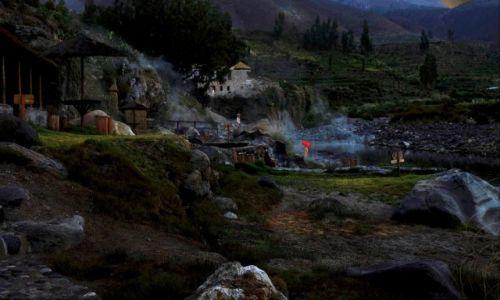 Zdjęcie PERU / Canion Colca / hacjenda w canionie / Hacjenda