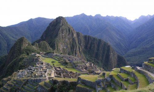 Zdjecie PERU / w okolicy Cusco / Machu Picchu / Machu Picchu czerwiec 2012