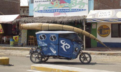 Zdjecie PERU / Wybrzeze Peruwianskie / Huanchaco / taxi