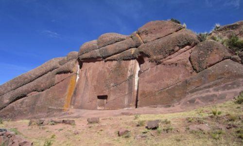 Zdjecie PERU / wschodnia czesc Peru / Okolice jeziora Titicaca / wrota niebios
