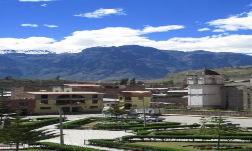 Zdjęcie PERU / okolice kanionu Colca / cabanaconde / cabanaconde