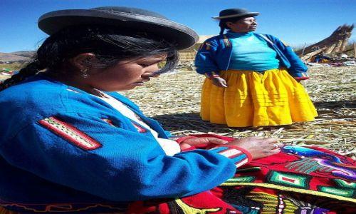 Zdjecie PERU / Jezioro Titicaca / Wyspy Uros / Peruwianki - konkurs