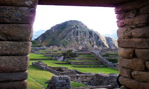 Zdjecie PERU / Andy / Machu Picchu / Huayna Picchu