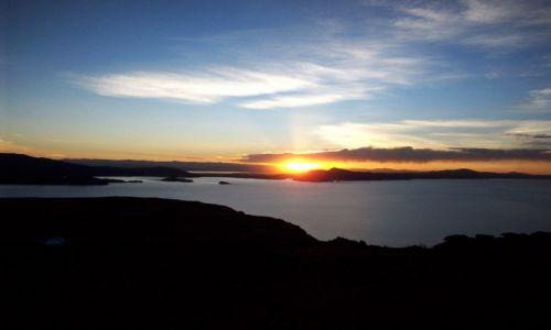 PERU / Jezioro Titicaca / Wyspa Amantani / Nad jeziorem Titicaca