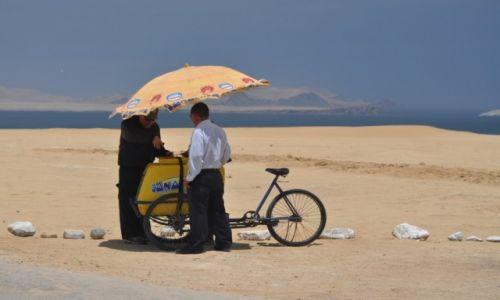 Zdjęcie PERU / Paracas / Paracas / Lody na pustyni