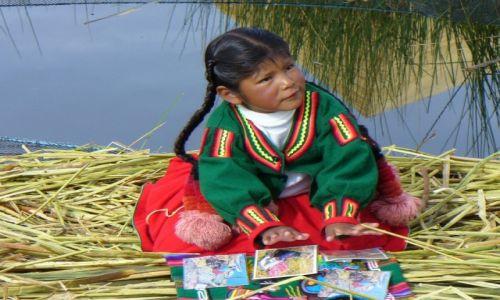 Zdjecie PERU / - / Jezioro Titicaca / Kobieta w Peru - Konkurs